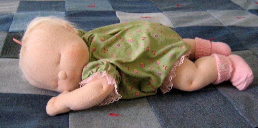 Куклы из трикотажа своими руками мастер класс